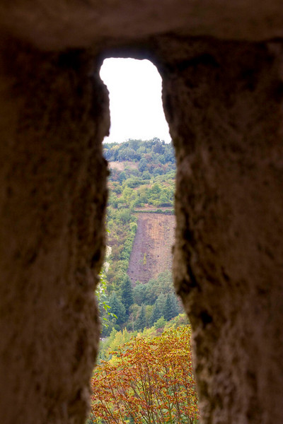 From Marksburg Castle - only medieval castle still standing in Germany.
