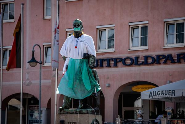 Prince Luitpold Statue