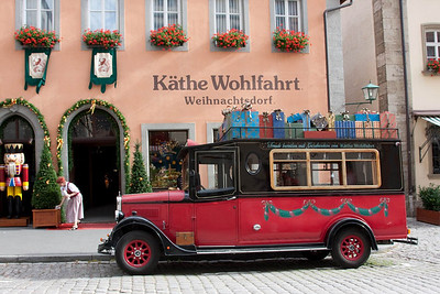 """Christmas Shop"" Rothenburg odt"