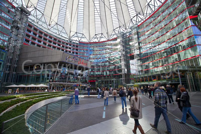 Sony Center-Potsdamer Platz Berlin