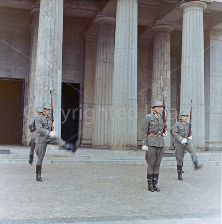 1967 Neue Wache It was then the Memorial to the Victims of Fascism
