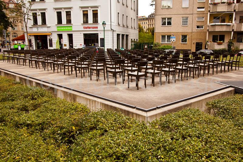 Leipzig Jewish memorial