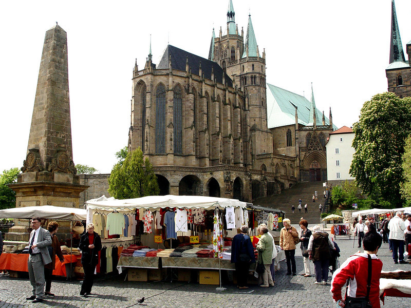 Erfurt market