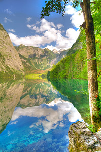Obersee, Bavaria, Germany