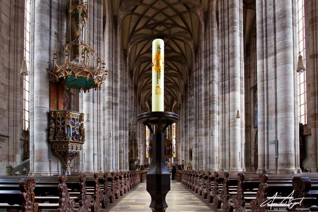 Dinkelsbuel Cathedral