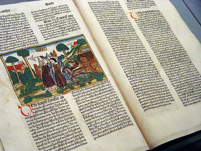 1483 edition of German Bible