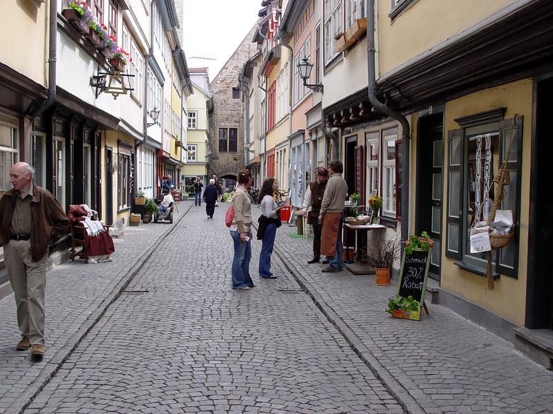Market bridge, Erfurt