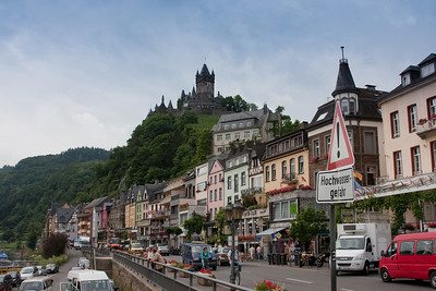 Cochem, Germany on the Upper Moselle river