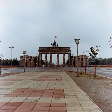 1967 Brandenburg Gate from East Berlin