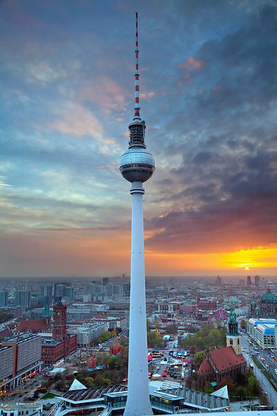 TV Tower in Berlin.