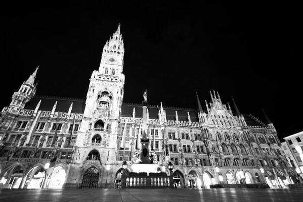 New Town Hall Marienplatz Munich, Germany