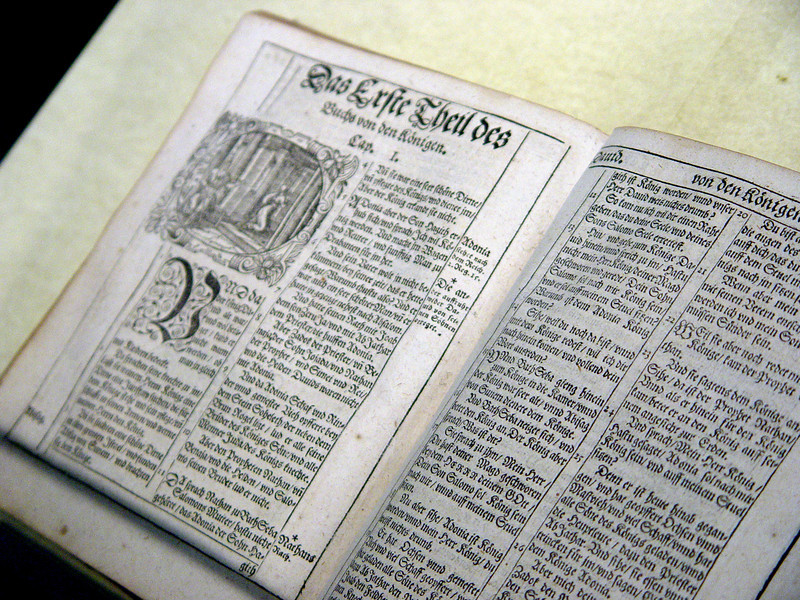 1594 edition of Luther Bible