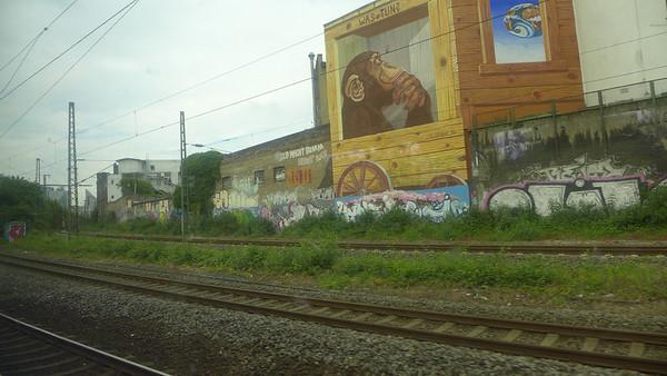 Train ride to Dusseldorf