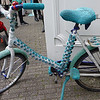 Crochet bike in Amsterdam