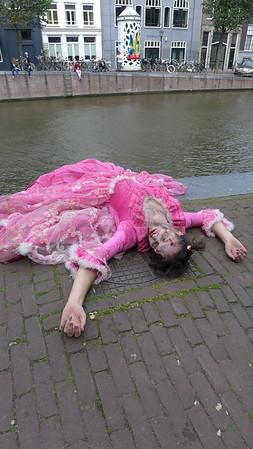Zombie attack in Amsterdam