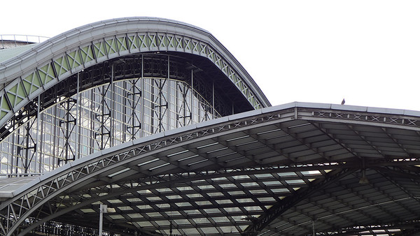 Koeln trainstation