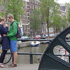 Watched the lovely couple get engaged! Amsterdam
