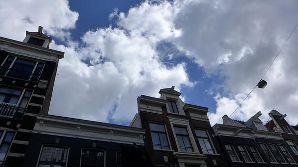 Clouds in Amsterdam