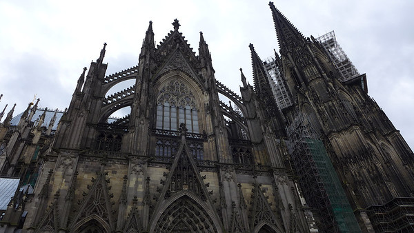 Koeln Dom! The Koeln cathedral is the largest church I've seen yet. It was breath taking!