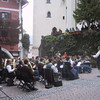 Sud-Tirolean (these days, Italian) band playing in St. Wolfgang