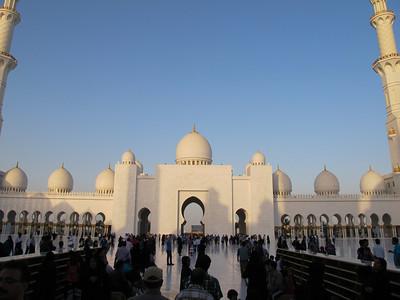 Getting there, Qasr Al Sarab back to Abu Dhabi