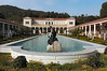 Courtyard at the Getty Villa
