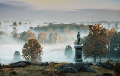 Gettysburg National Battlefield, Gettysburg, PA