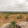 Panarama from Little round top (Gettysburg).