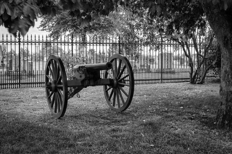 Gettysburg Cemetery Cannon