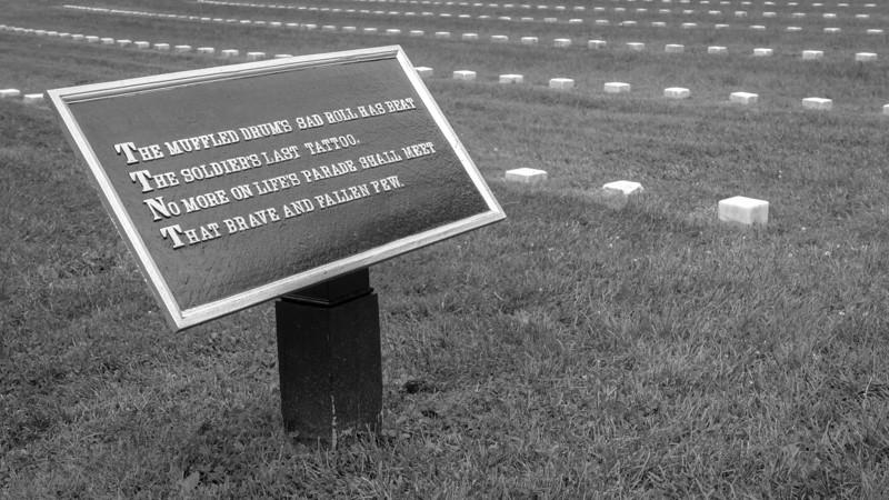 Gettysburg Cemetery Plaque