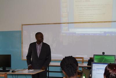 Mr. Boakye from the Ghana Education Service