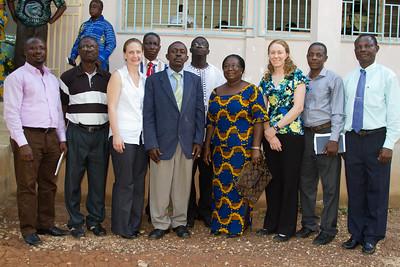 Ghana Education Service and MCI staff