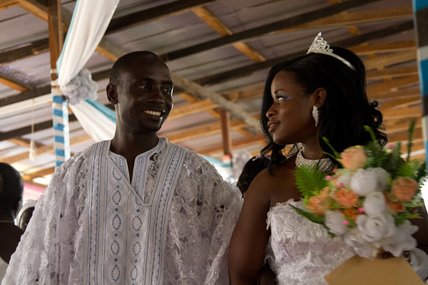 Diana and Sarfo's wedding
