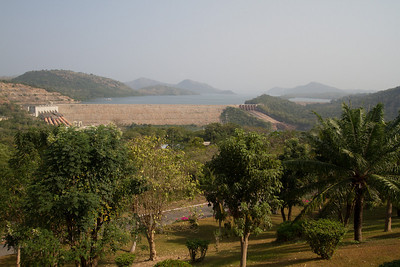 view from the Volta Hotel