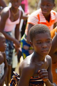 dancers welcoming guests to Dodi Island