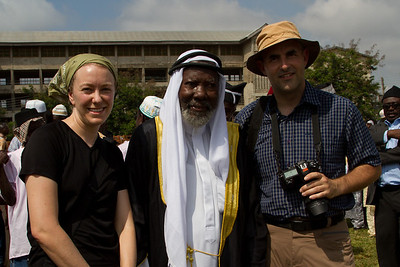 Michelle, Markus and the imam