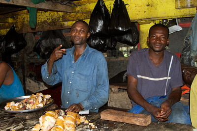 Some of the butchers at Kejetia