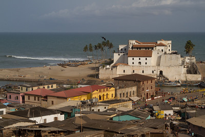 St. George's Castle in Elmina, seen from Fort St. Jago
