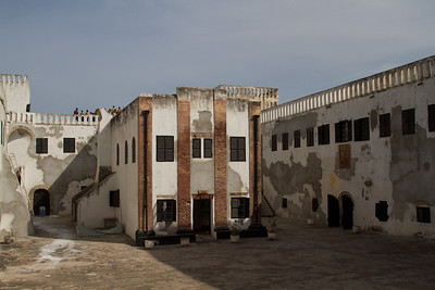 former church in St. George's Castle (Elmina)