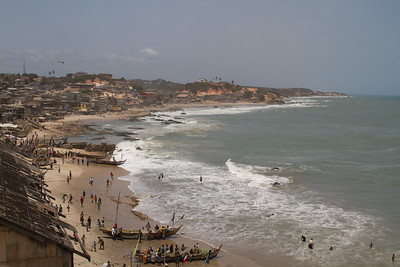 Cape Coast coastline
