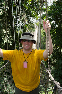 LJ on the Kakum canopy walk