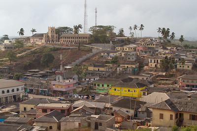 Elmina seen from Fort St. Jago