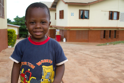 Kofi, son of Evelyn, head of Opoku Ware Basic