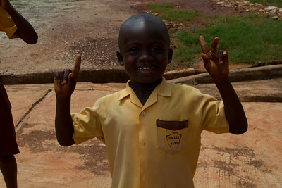 Children at Opoku Ware school