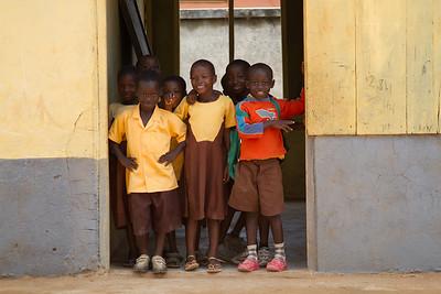 Kids multiplying at Adiebaba Primary
