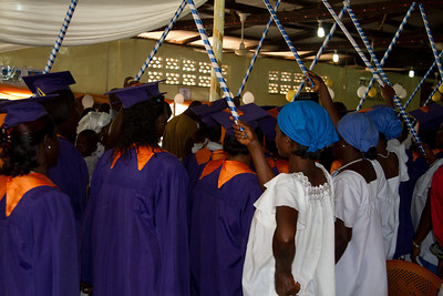 choir entering the church