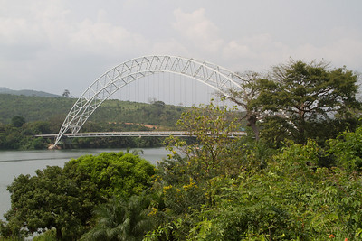 Adome Bridge over the lower Volta
