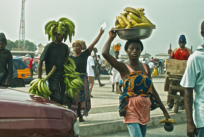 Images from Ghana's capital, Accra, and from a road trip to the Cape Coast
