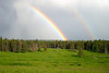 Double rainbow over the Bar-C ranch!