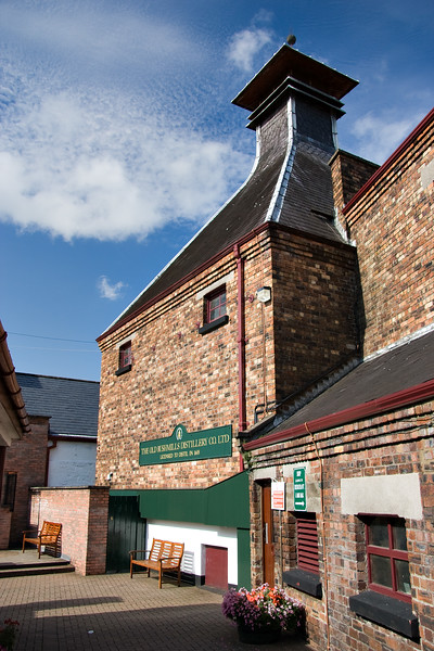 Bushmills whskey distillery, Ireland, the oldest licenced whiskey distillery in the world